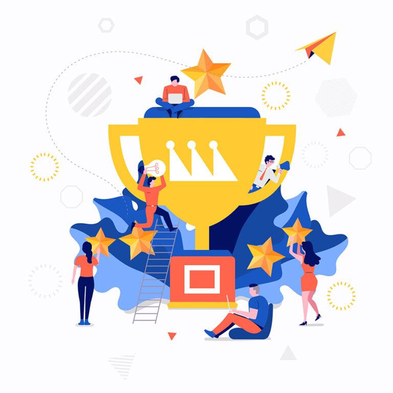 DesignRush top ranking for 2021